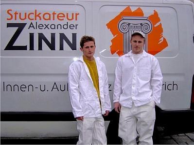 Stuckateur Alexander Zinn